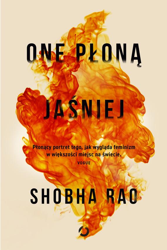 okładka One płoną jaśniej, Ebook   Shobha Rao