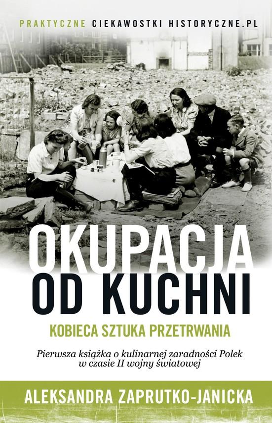 okładka Okupacja od kuchniebook | epub, mobi | Aleksandra Zaprutko-Janicka