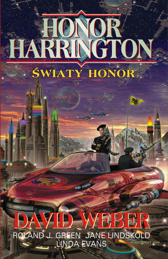 okładka Honor Harrington. Światy Honorebook   epub, mobi   David Weber