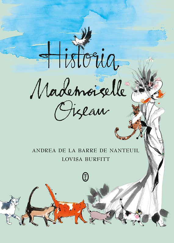 okładka Historia Mademoiselle Oiseau, Ebook   Andrea de la Barre de Nanteuil