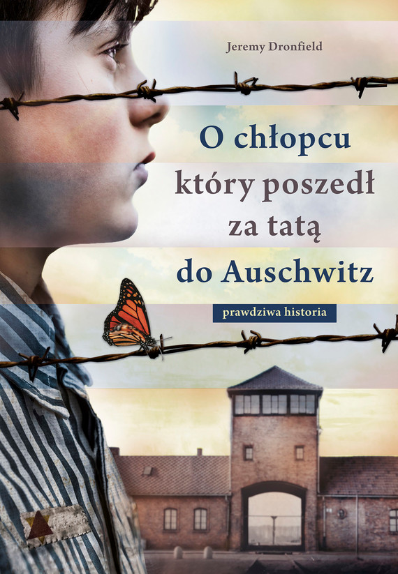 okładka O chłopcu, który poszedł za tatą do Auschwitzebook | epub, mobi | Jeremy Dronfield