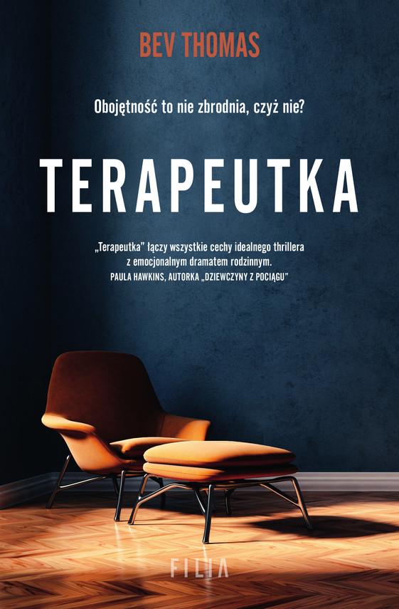 okładka Terapeutkaebook | epub, mobi | Thomas Bev