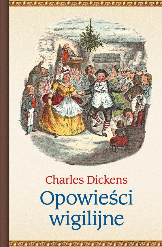 okładka Opowieści wigilijneebook | epub, mobi | Charles Dickens