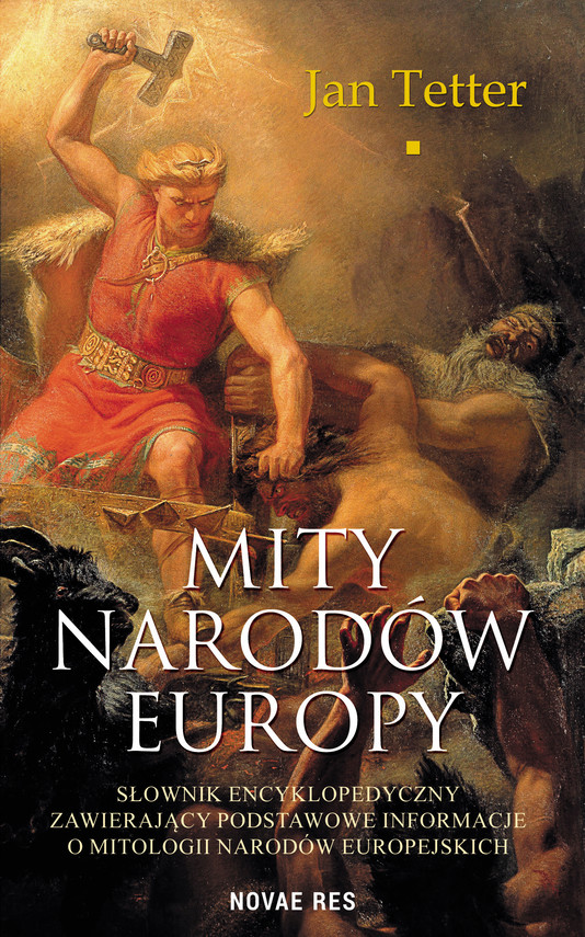 okładka Mity narodów Europyebook   epub, mobi   Jan Tetter
