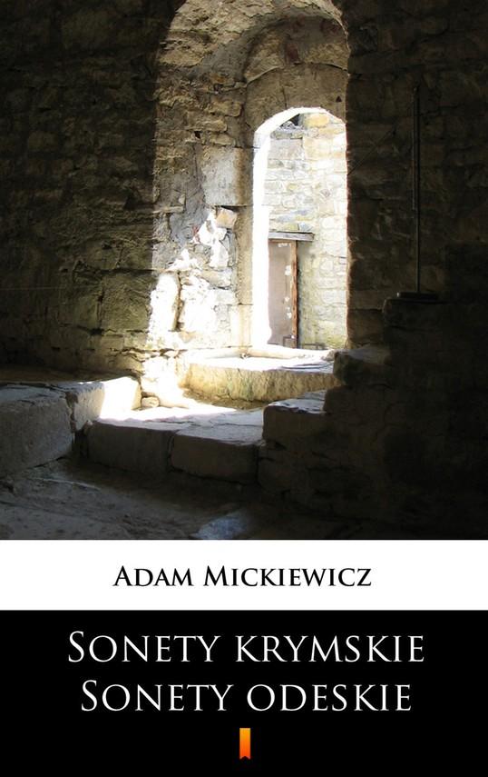 okładka Sonety krymskie. Sonety odeskieebook | epub, mobi | Adam Mickiewicz