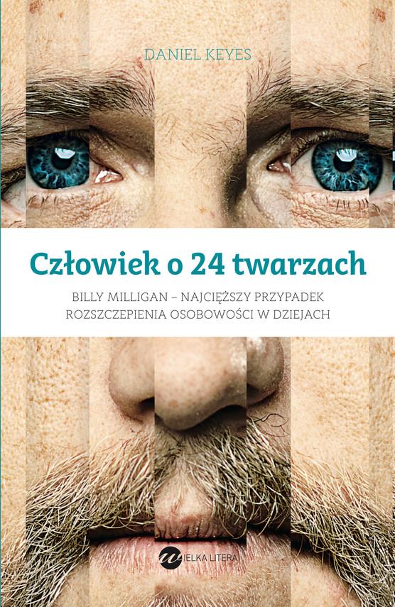 okładka Człowiek o 24 twarzachebook | epub, mobi | Daniel Keyes