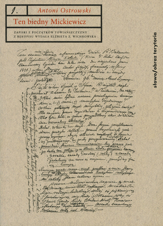 okładka Ten biedny Mickiewicz..., Ebook | Antoni Ostrowski