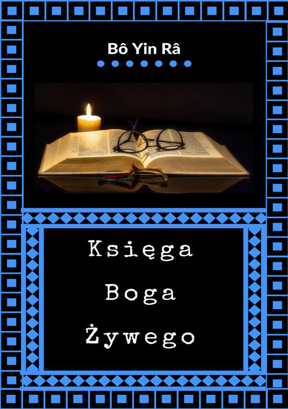 okładka Księga Boga Żywego, Ebook   Bô Yin Râ