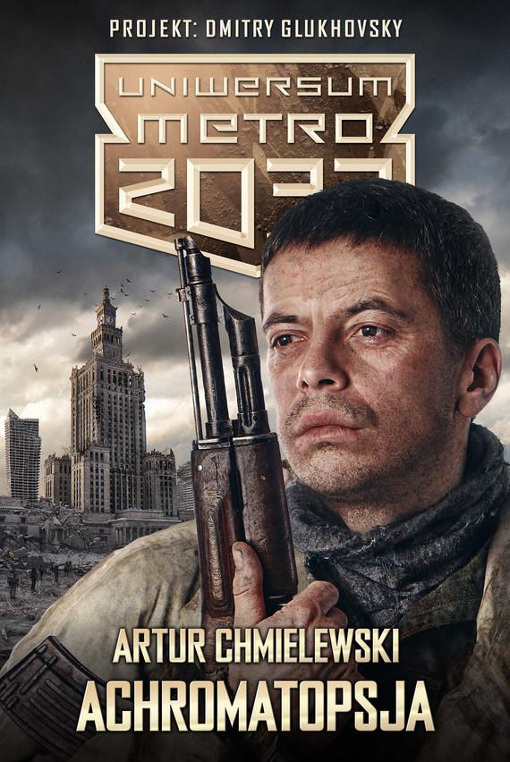 okładka Achromatopsjaebook | epub, mobi | Artur Chmielewski