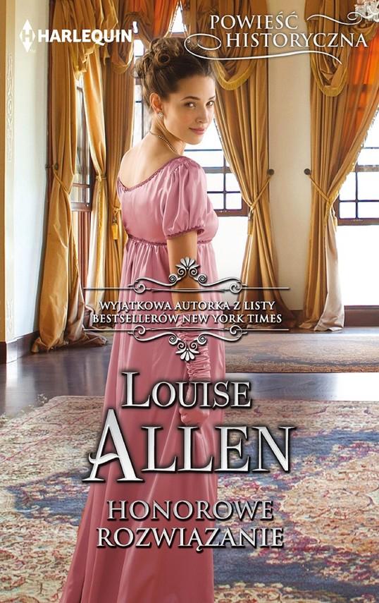 okładka Honorowe rozwiązanieebook | epub, mobi | Louise Allen