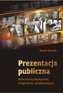 okładka Prezentacja publicznaebook   pdf   Marek Stączek