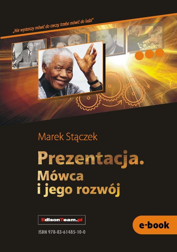 okładka Prezentacja. Mówca i jego rozwójebook | pdf | Marek Stączek