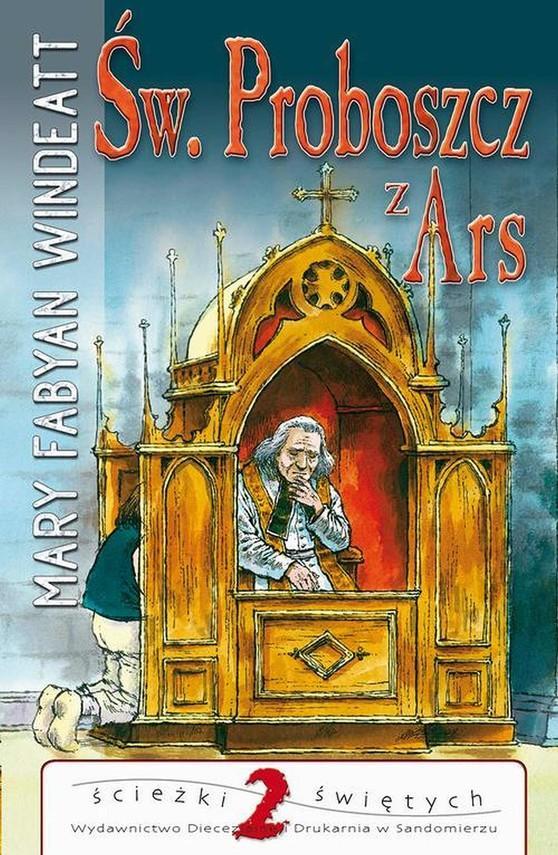 okładka Święty proboszcz z Ars, Ebook | Mary  Windeatt-Fabyan