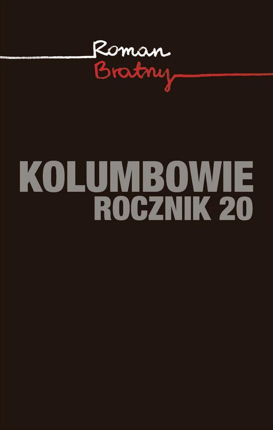 okładka Kolumbowie. Rocznik 20ebook   epub, mobi   Roman Bratny