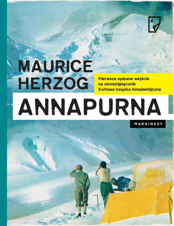 okładka Annapurnaebook | epub, mobi | Maurice Herzog