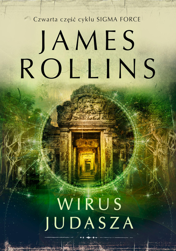 okładka Wirus Judaszaebook | epub, mobi | James Rollins