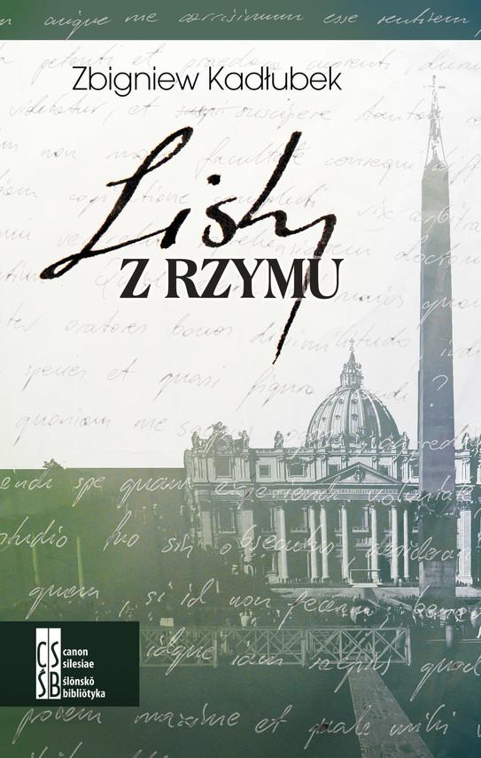 okładka Listy z Rzymu, Ebook | Zbigniew Kadłubek
