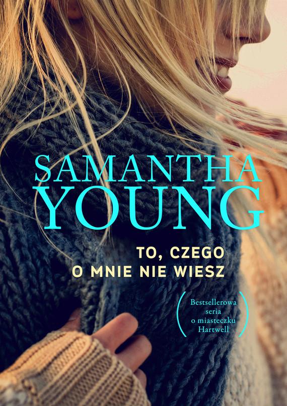 okładka To, czego o mnie nie wieszebook | epub, mobi | Samantha Young