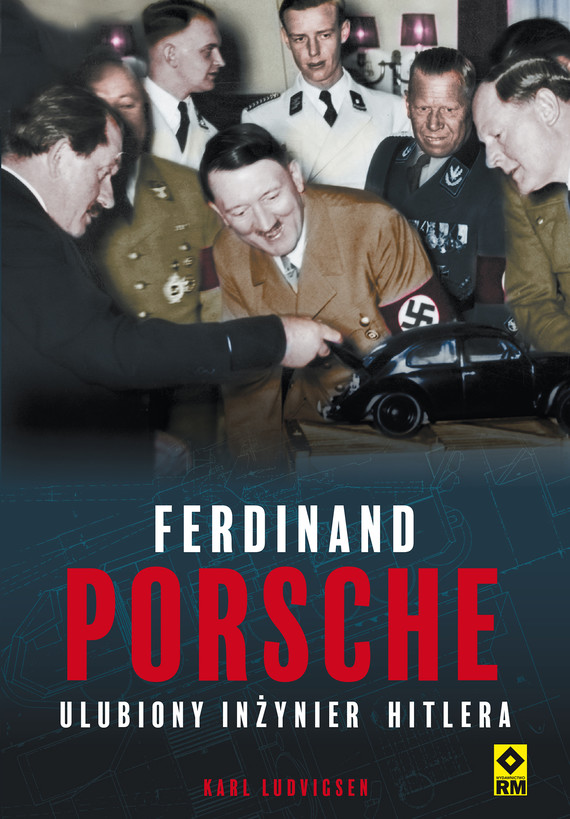 okładka Ferdinand Porsche, Ebook | Karl Ludvigsen