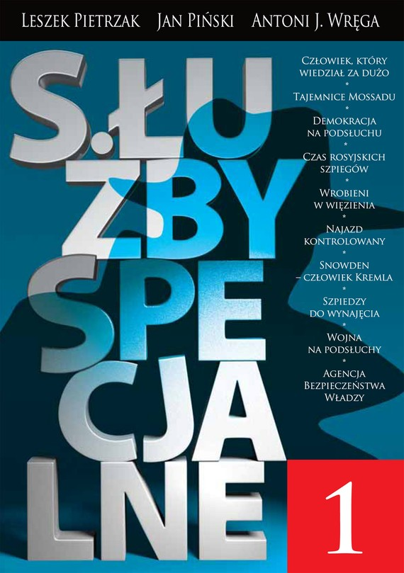 okładka Służby Specjalne, Ebook | Jan Piński, Leszek  Pietrzak, Antoni Wręga