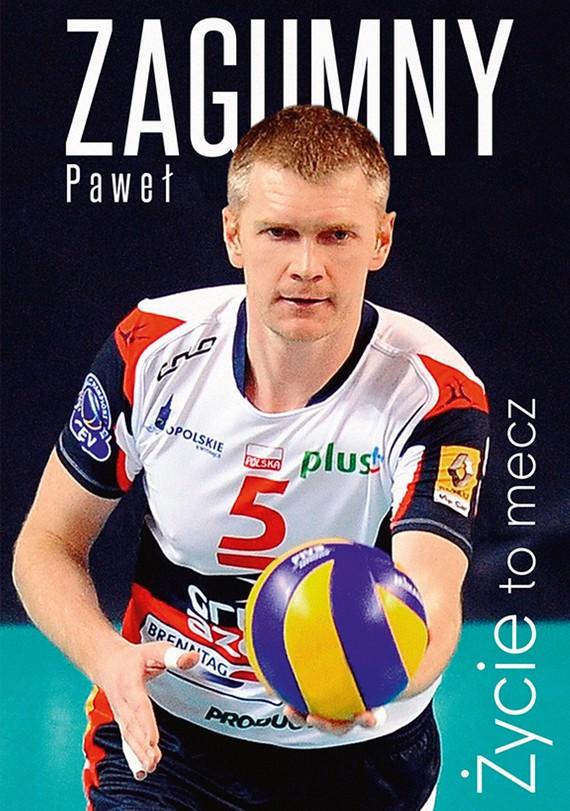 okładka Życie to mecz, Ebook | Paweł Zagumny