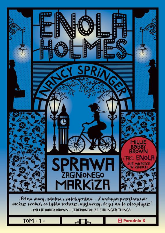 okładka Enola Holmes. Sprawa zaginionego markiza, Ebook | Nancy Springer