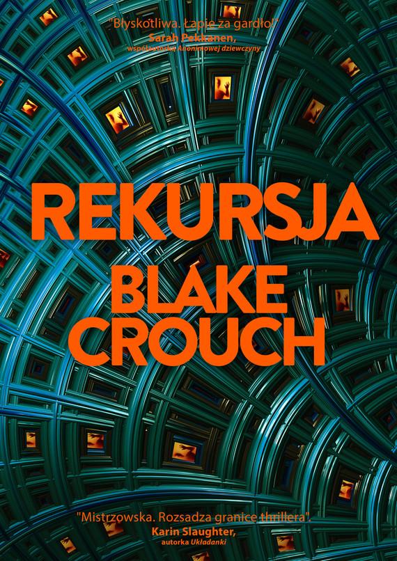 okładka Rekursjaebook | epub, mobi | Blake Crouch