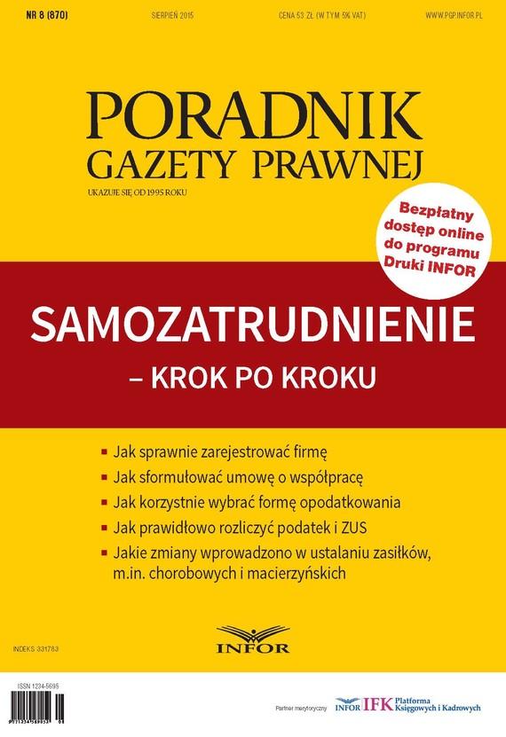 okładka Samozatrudnienie - Krok po Krokuebook   pdf   Grzegorz Ziółkowski