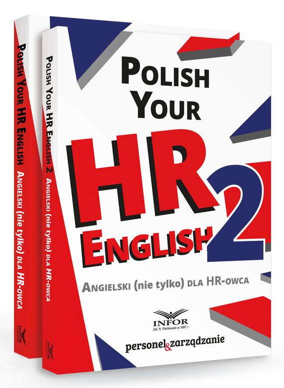 okładka Polish your HR English. Angielski (nie tylko) dla HR-owca-PAKIET częć I i II, Ebook | Praca Zbiorowa
