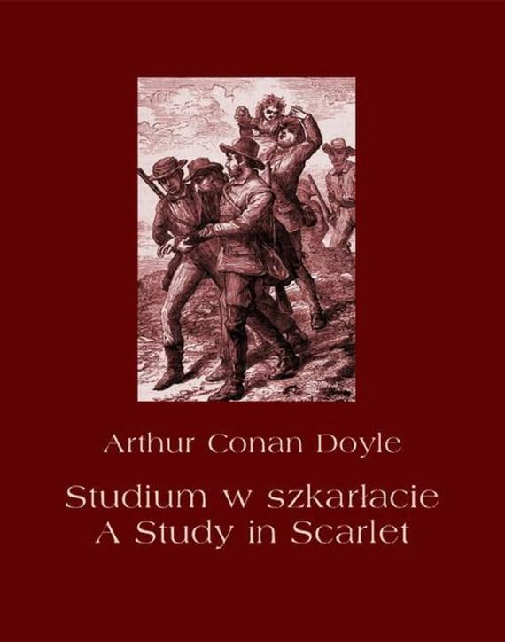 okładka Studium w szkarłacie. A Study in Scarletebook | epub, mobi | Arthur Conan Doyle