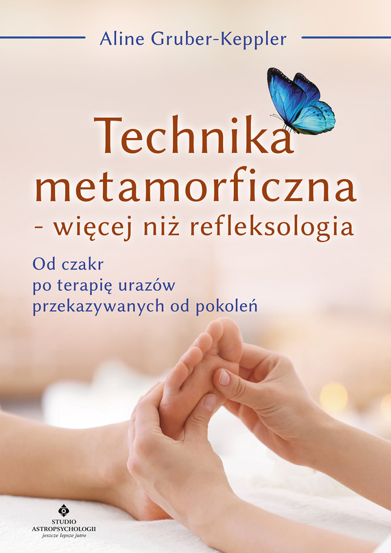 okładka Technika metamorficzna - więcej niż refleksologiaebook | epub, mobi | Aline Gruber-Keppler