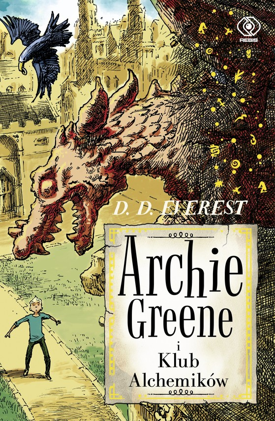 okładka Archie Greene (Tom 2). Archie Greene i Klub Alchemików, Ebook | D.D. Everest