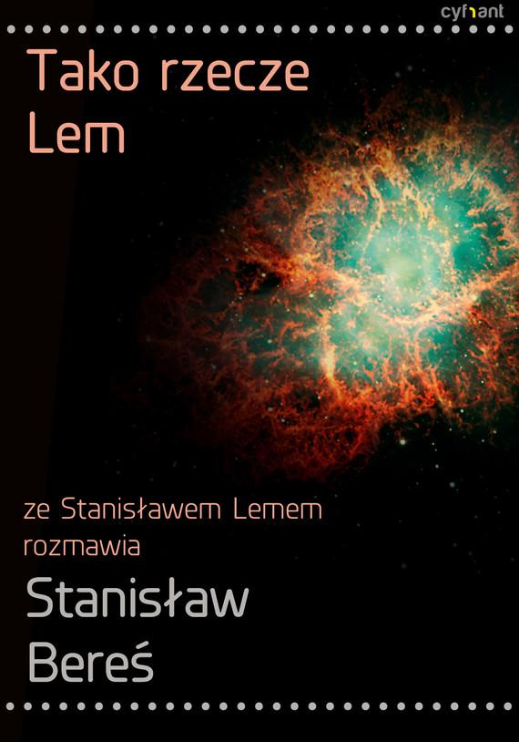 okładka Tako rzecze Lem, Ebook | Stanisław Lem, Stanisław Bereś