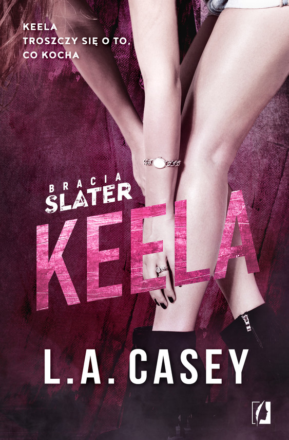 okładka Bracia Slater. Keelaebook | epub, mobi | L. A.  Casey