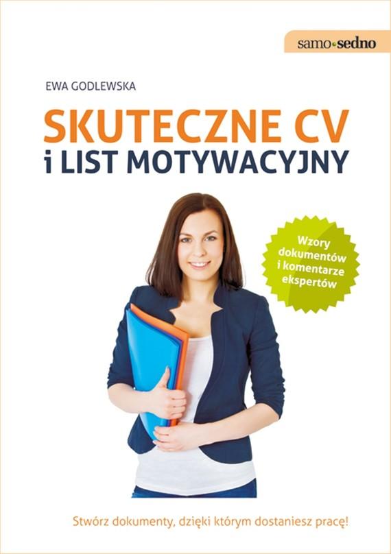 okładka Samo Sedno - Skuteczne CV i list motywacyjny, Ebook   Ewa  Godlewska