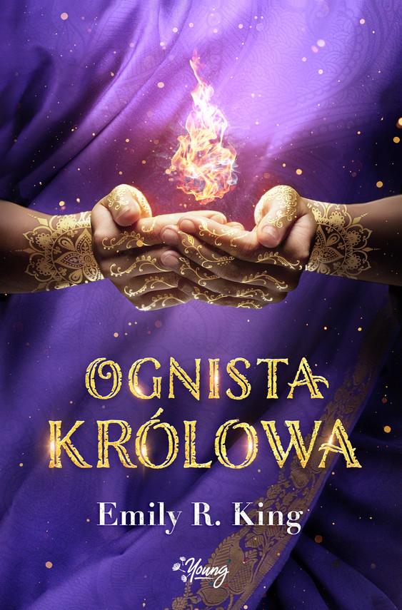 okładka Ognista królowa. Tom 2, Ebook | Emily R. King