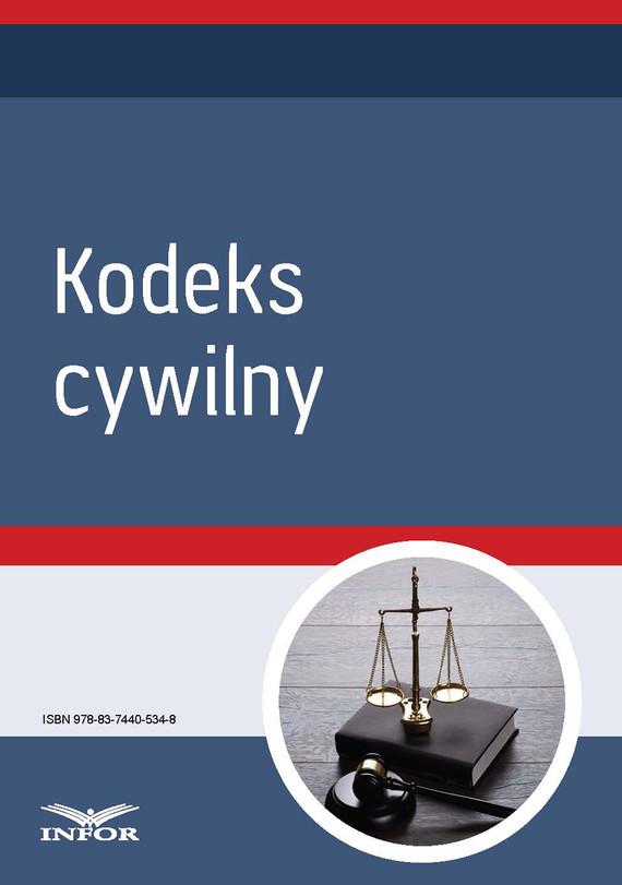 okładka Kodeks cywilny, Ebook | INFOR PL SA
