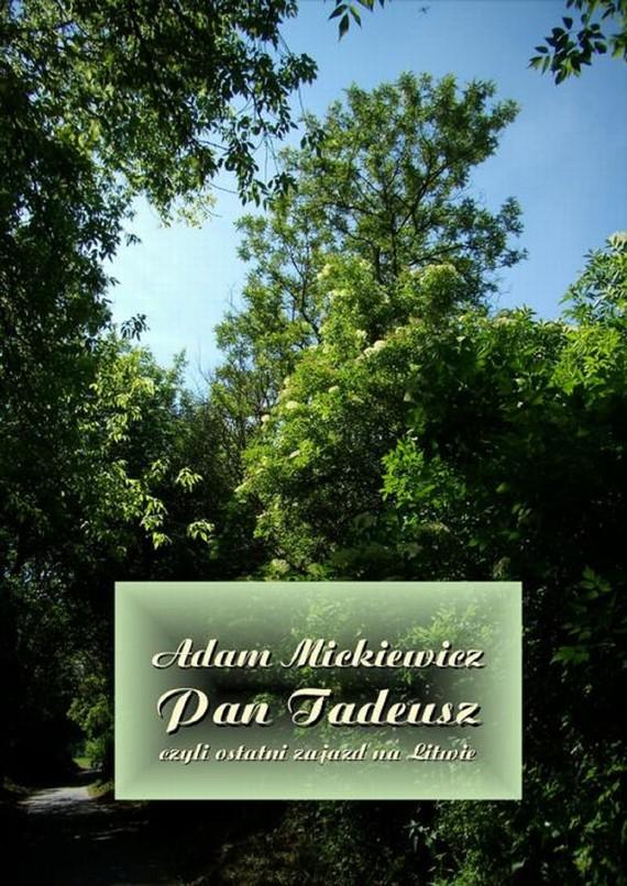 okładka Pan Tadeusz, czyli ostatni zajazd na Litwieebook | epub, mobi | Adam Mickiewicz
