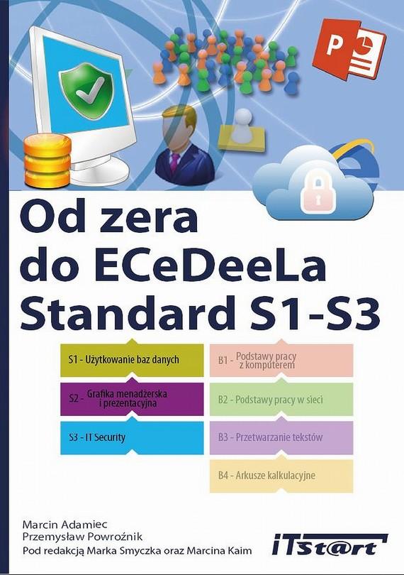 okładka Od zera do ECeDeeLa Standard. S1-S3, Ebook | Marcin  Adamiec, Przemysław  Powroźnik