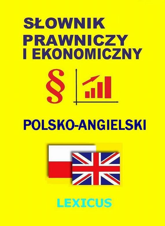 okładka Słownik prawniczy i ekonomiczny polsko-angielskiebook | pdf | Jacek Gordon