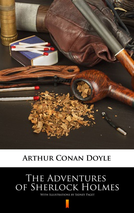 okładka The Adventures of Sherlock Holmes. Illustrated Edition, Ebook | Arthur Conan Doyle