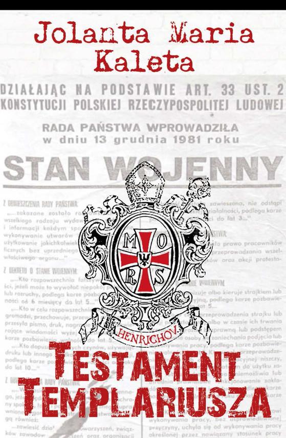 okładka Testament Templariusza, Ebook | Jolanta Maria Kaleta
