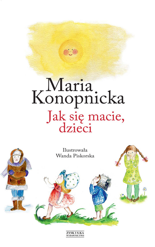 okładka Jak się macie, dzieciebook | epub, mobi | Maria Konopnicka