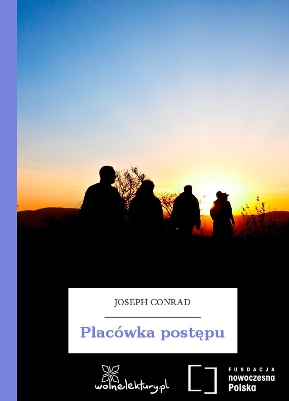 okładka Placówka postępuebook | epub, mobi | Joseph Conrad