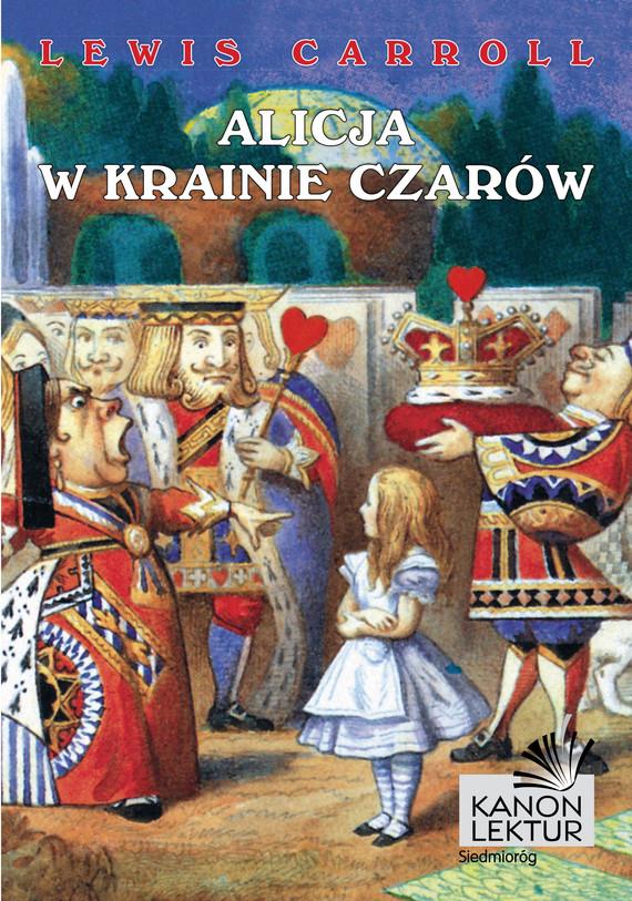 okładka Alicja w krainie czarów, Ebook   Lewis Caroll