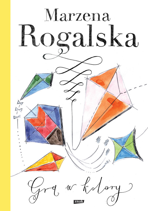 okładka Gra w kolory, Ebook | Marzena Rogalska