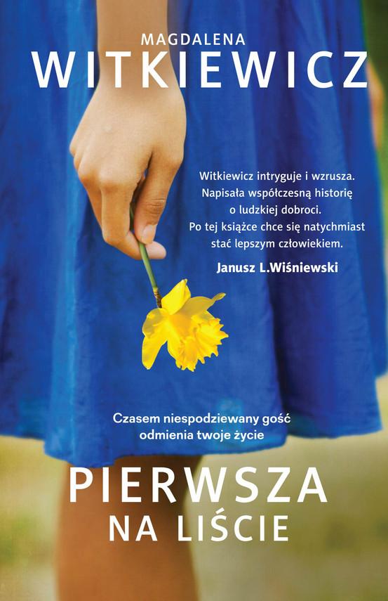 okładka Pierwsza na liścieebook | epub, mobi | Magdalena Witkiewicz