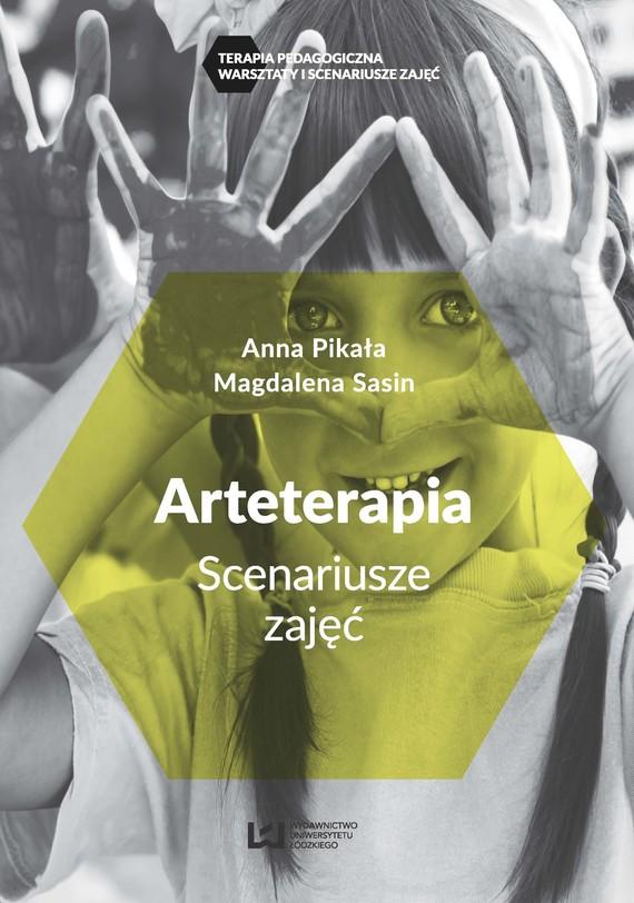 okładka Arteterapiaebook | pdf | Anna Pikała, Magdalena Sasin