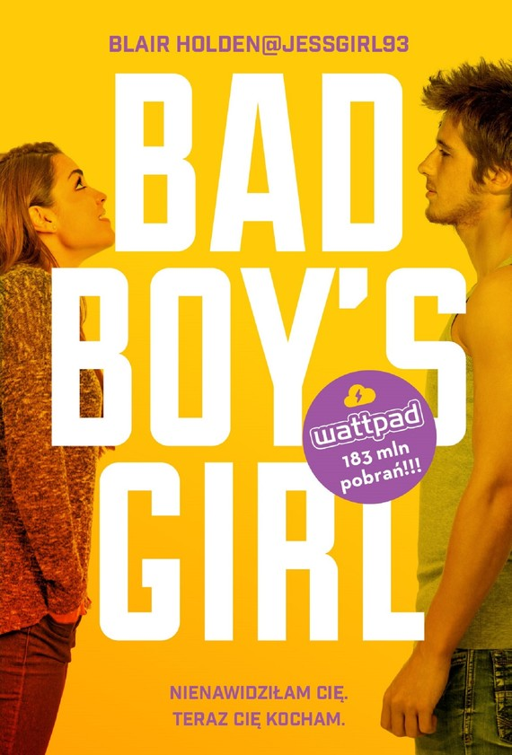okładka Bad Boy's Girlebook | epub, mobi | Blair  Holden