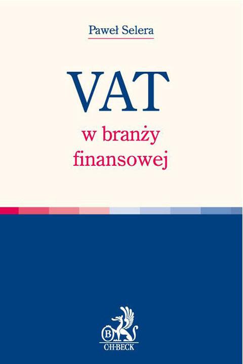 okładka VAT w branży finansowej, Ebook | Paweł Selera